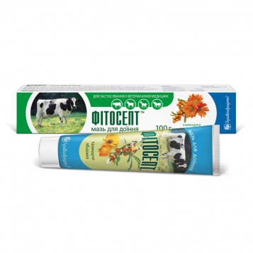 Fitosept ointment for milking