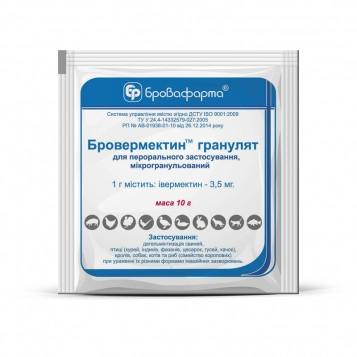 Brovermectin granulat